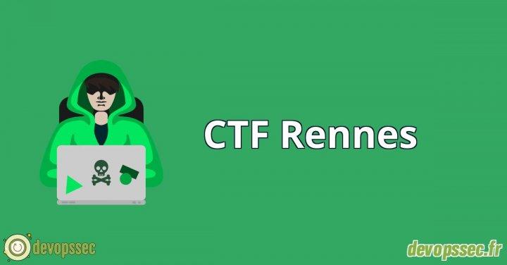 image de l'article Participation Challenges CTF  Rennes