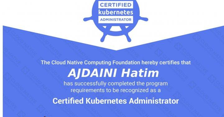 image de l'article Comment se préparer à la certification CKA (Certified Kubernetes Administrator)