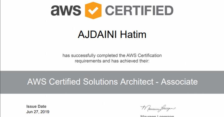 image de l'article Comment se préparer à la certification AWS Solution Architecte Associate + Cheat Sheet