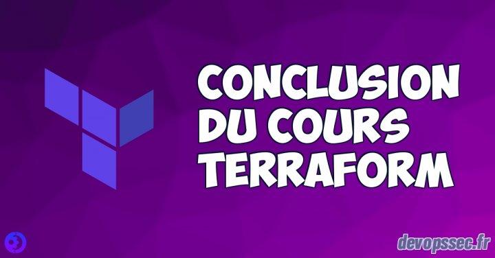 image de l'article Conclusion du cours Terraform