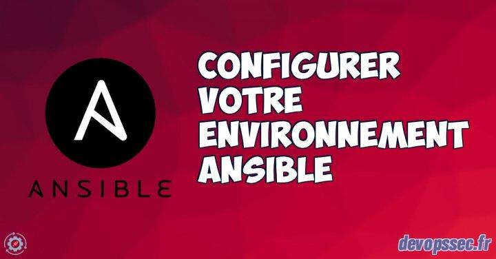 image de l'article Configurer votre environnement Ansible