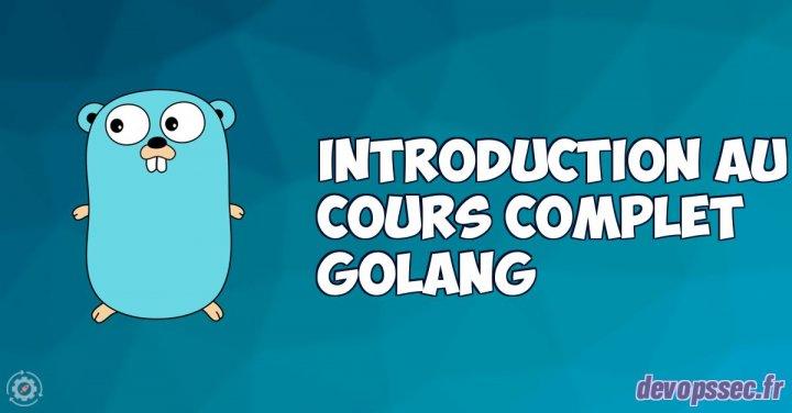 image de l'article Introduction du cours pour apprendre le langage programmation GO