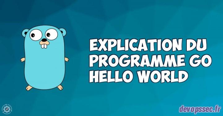 image de l'article Explication pas à pas du programme GO hello world