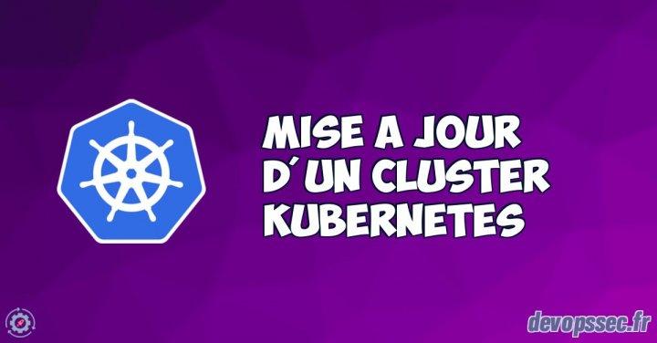 image de l'article Mise à niveau d'un cluster Kubernetes (kubeadm)